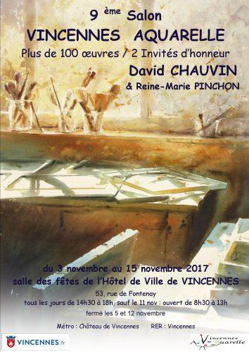 9ème SALON DE VINCENNES AQUARELLE