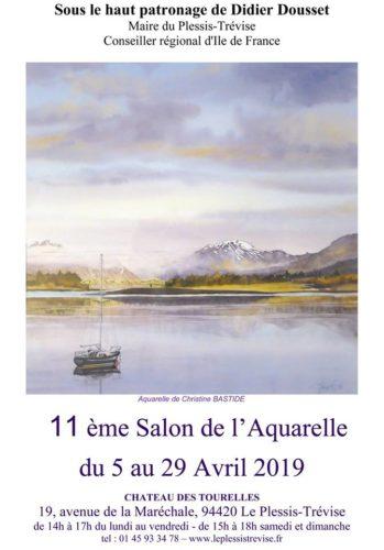 SALONS DE L'AQUARELLE du PLESSIS TREVISE (94)