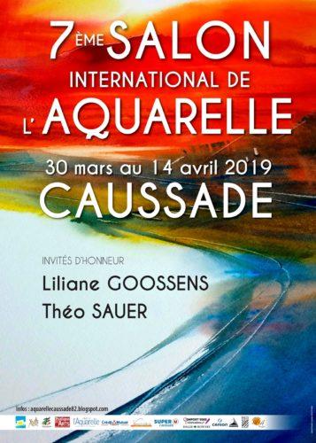 7ème SALON INTERNATIONAL de l'AQUARELLE de CAUSSADE en QUERCY