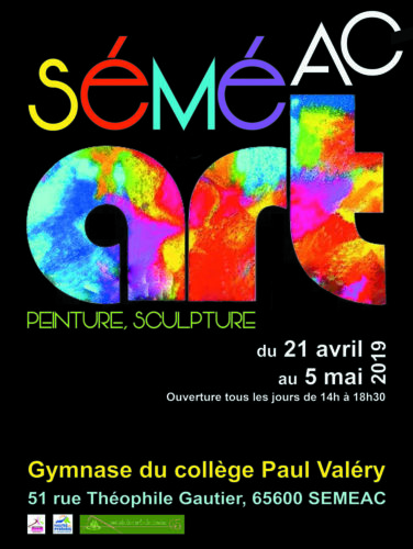 1ère Biennale SéméART à SÉMÉAC dans les Hautes-Pyrénées