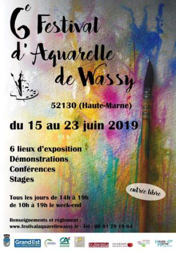 5ème et 6ème FESTIVAL d'AQUARELLE de WASSY