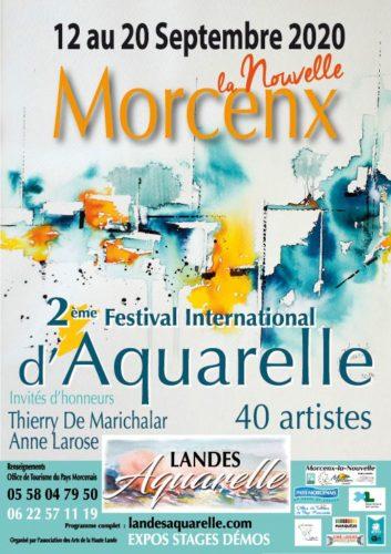 FESTIVAL D'AQUARELLE DE MORCENX (40 Landes)